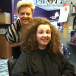 Keratin Hair Treatment on Curly Hair by Master Hair Stylist Misty Bliven